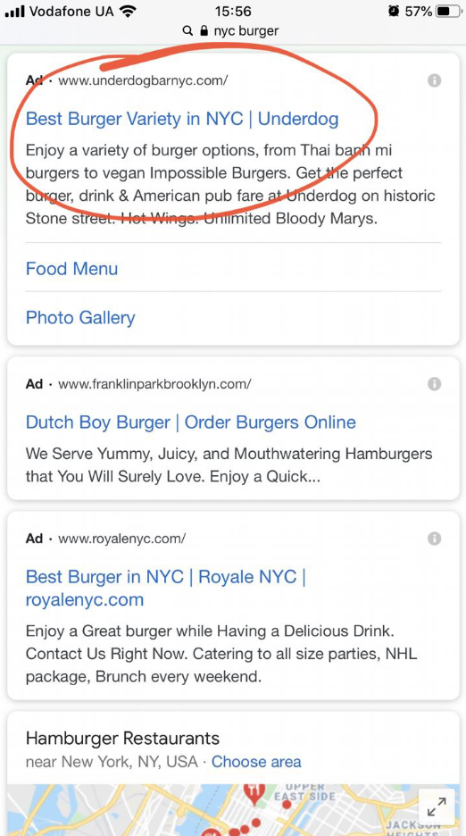Add location name to your ads
